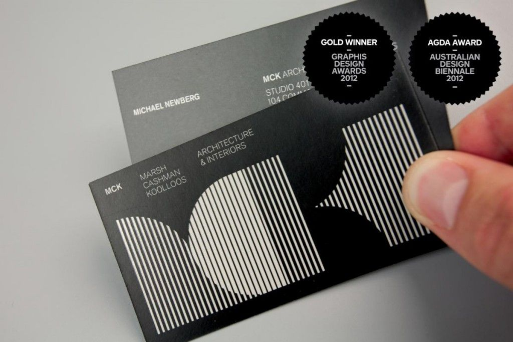 MCK Architects - Business Card Design Inspiration | Card Nerd