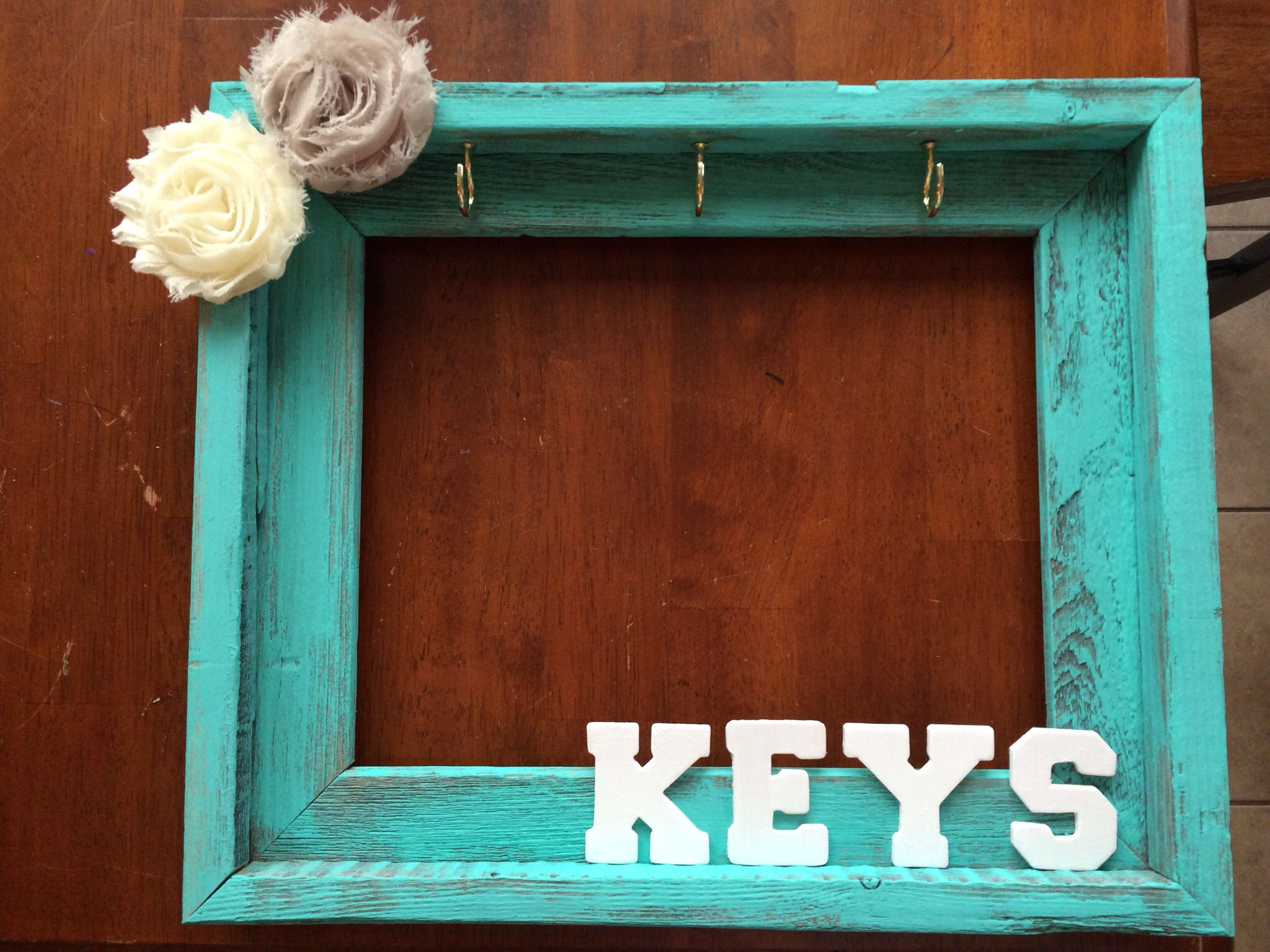 key holder out of a picture frame - Moving Picture Frames