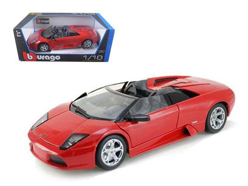 Superb Lamborghini Murcielago Roadster Red 1/18 Diecast Car Model By Bburago