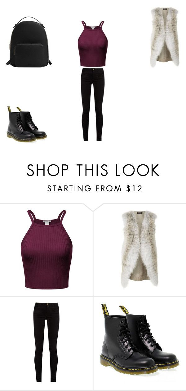 """""""casual"""" by ikatsamaki on Polyvore featuring Harrods, Gucci, Dr. Martens and MANGO"""