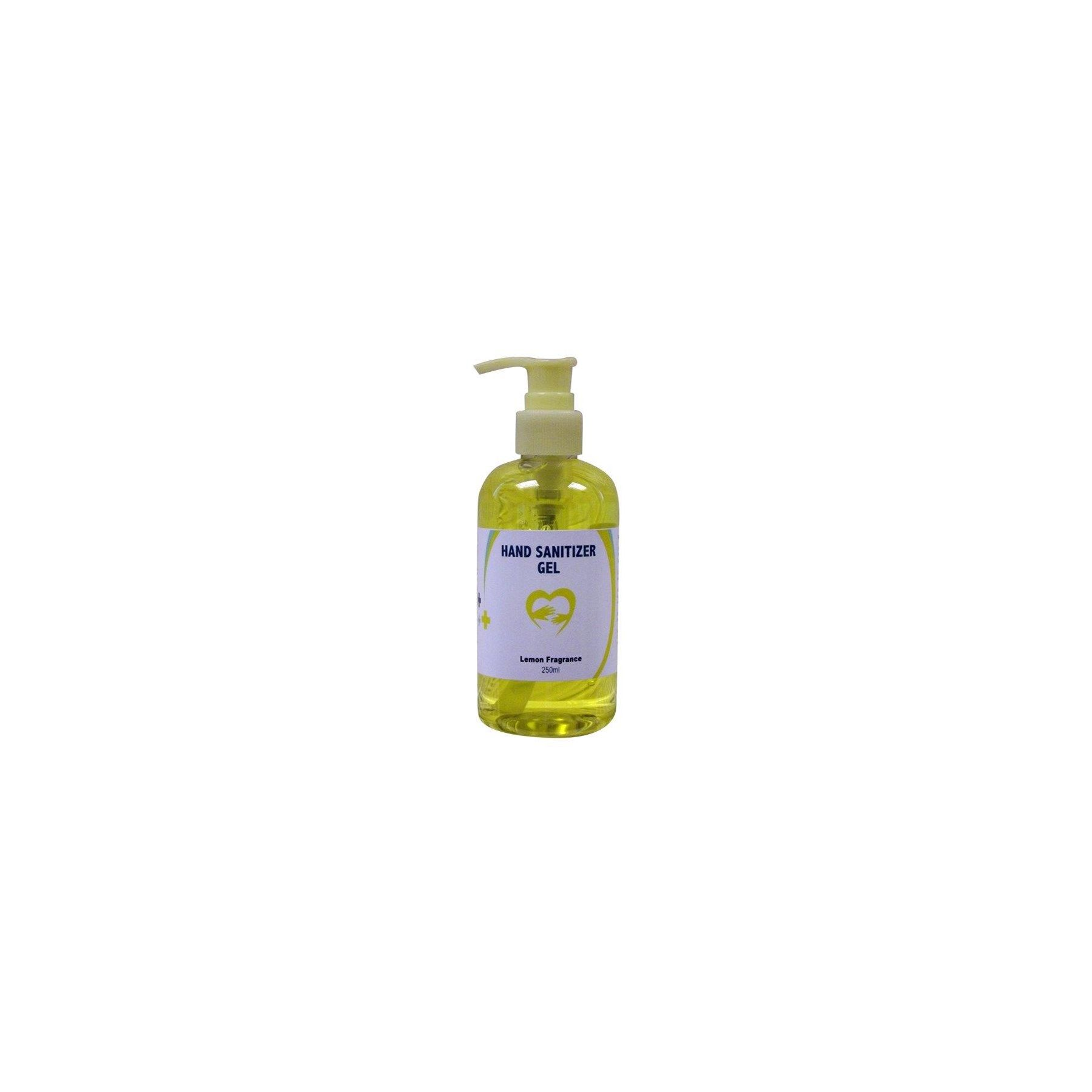 Hand Sanitizer Gel Lemon 250ml Handsanlem12 Hand Sanitizer