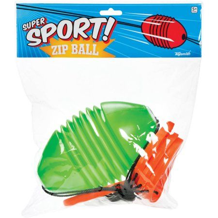 Toysmith Zip Ball Game, Multicolor