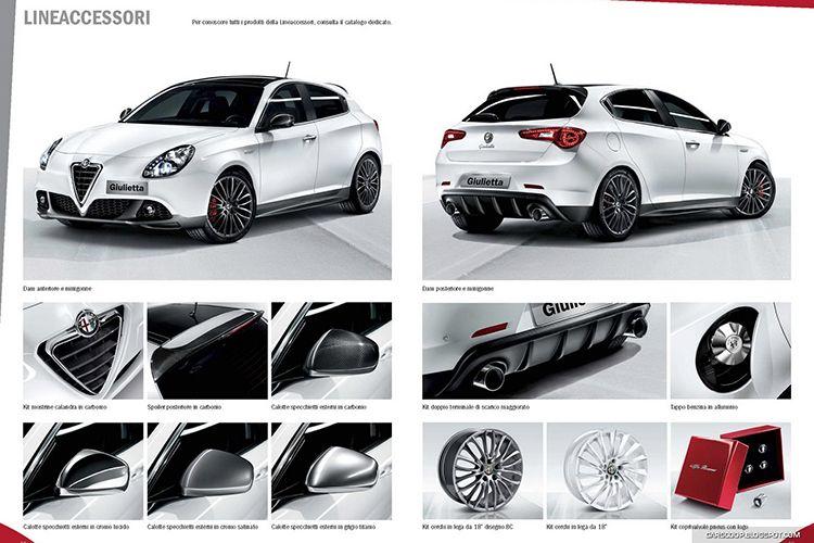 Alfa Romeo Giulietta Tuning Auto