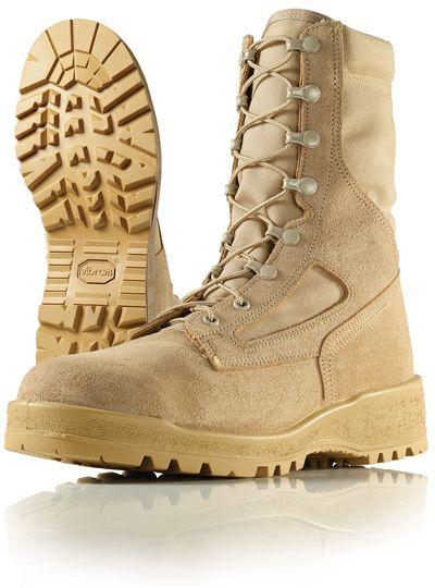 6aed3eca2ca2 Wellco Mens 8 Inch Hot Weather Steel Toe Desert Combat Boots   T161 ...