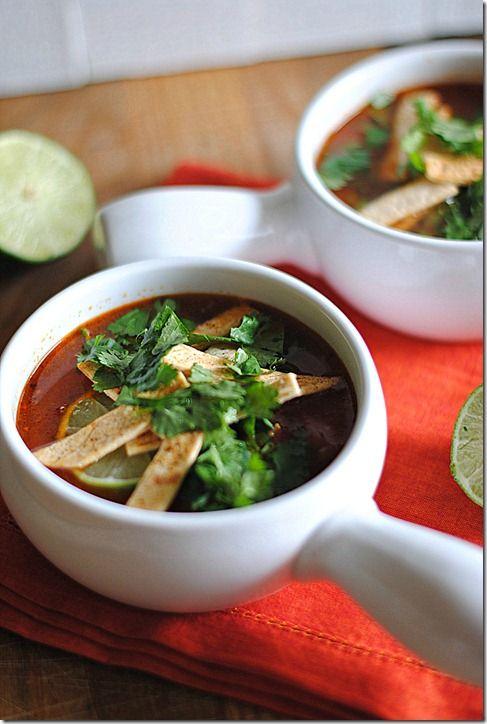 Chipolte Chicken Tortilla Soup