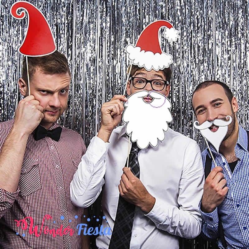 Fotos Simpaticas De Papa Noel.Photocall Con Props De Papa Noel Para Celebrar Las Fiestas
