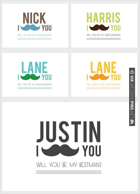 will you be my groomsman free printable cards check out more ideas