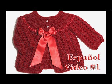 YouTube | Crochet | Pinterest | Para bebes, Chaquetas y Youtube
