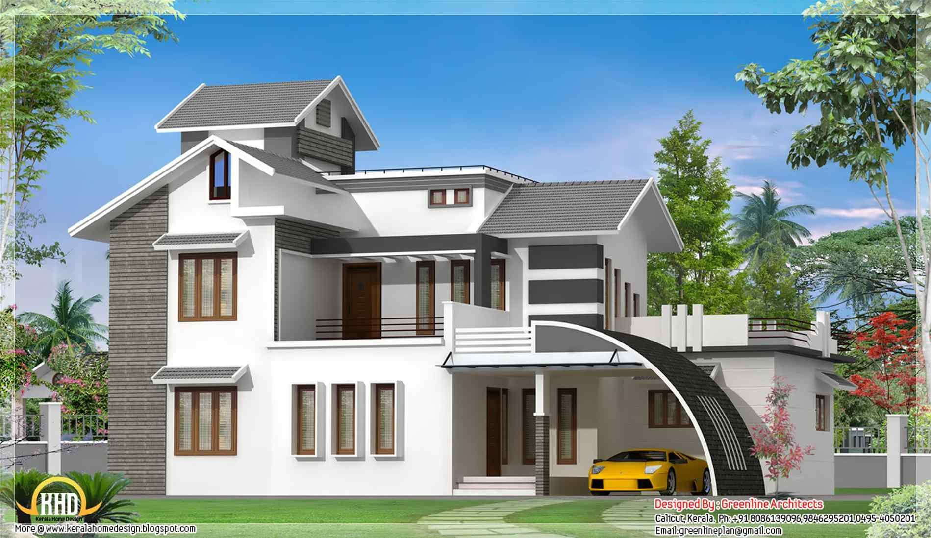 Roof Designs For Houses Home Roof Ideas Kerala House Design House Front Design Cool House Designs