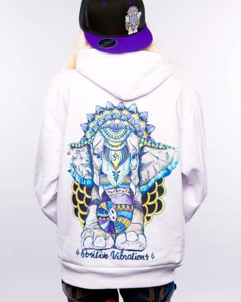 Positive Vibrations Pullover Hoodie