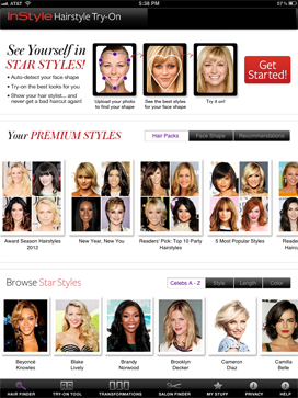 Try Different Hairstyles Extraordinary Featured On Katie Couric  Download App From Instyle Hairstyle