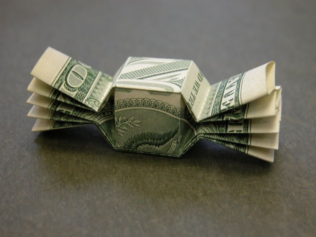 Details about Beautiful Money Origami Art Pieces - MANY ... - photo#43