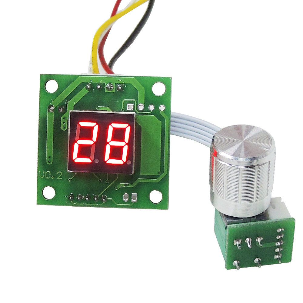 Motor Speed Control Dc 12v 24v 2a Pwm Adjustable Speed