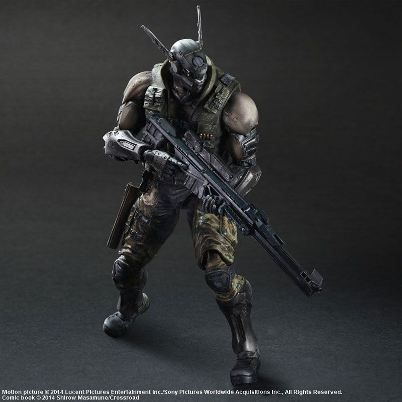 Appleseed Alpha Briareos Marvel Character Design Play Arts Kai Action Figures Action Figures