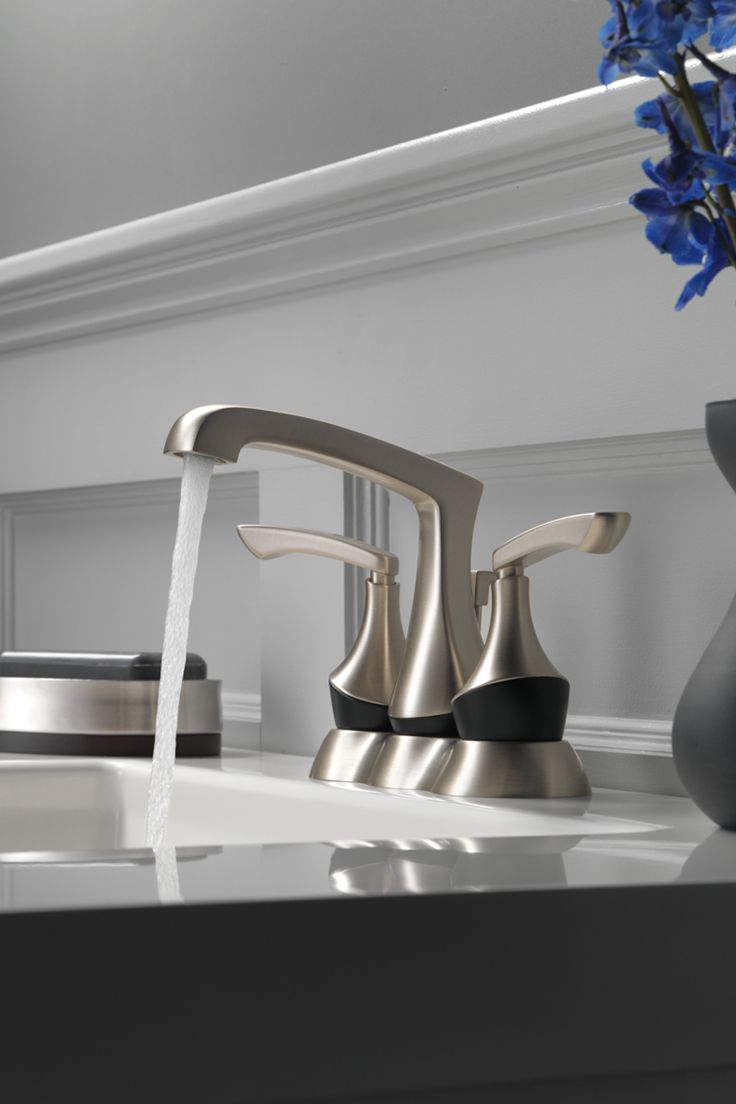 Brushed Nickel or Matte Black? With our Merge faucet, you won\'t ...