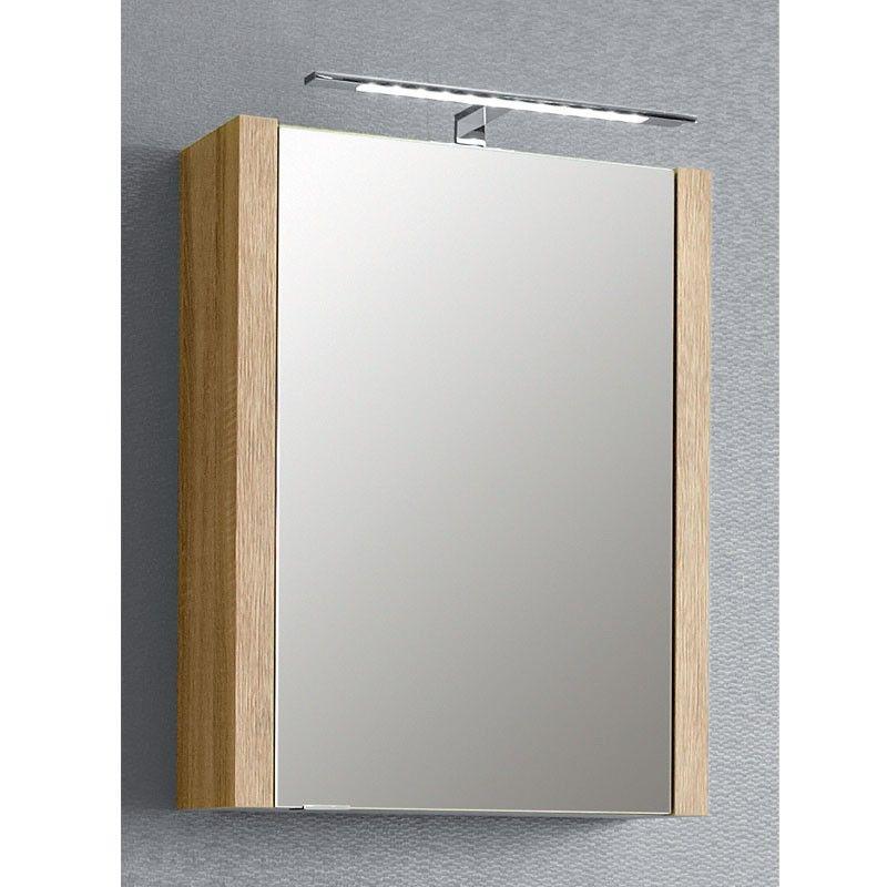Pelipal Lardo Spiegelschrank mit 1 Drehtür, einfach verspiegelt- B