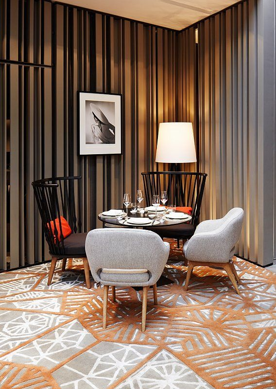 Das Stue Hotel Interior by Patricia Urquiola (Wall detail ...