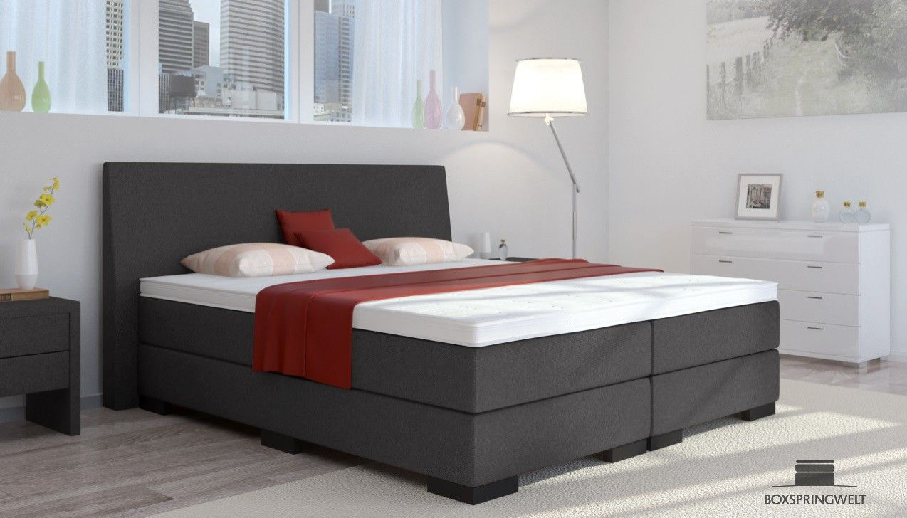boxspringbett knut 180 x 200 cm boxspring welt home sweet home pinterest boxspringbett. Black Bedroom Furniture Sets. Home Design Ideas