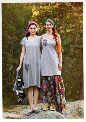 """""""Anemon"""" eco-cotton dress – Bad i kvällssolen – GUDRUN SJÖDÉN – Webshop, mail order and boutiques 