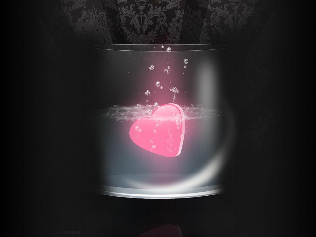Drowning love Love wallpaper, Heart wallpaper, Heart artwork