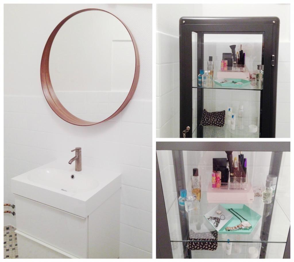 Bathroom makeover on a budget - painted tiles // badeværelse makeover med malede badeværelsesfliser