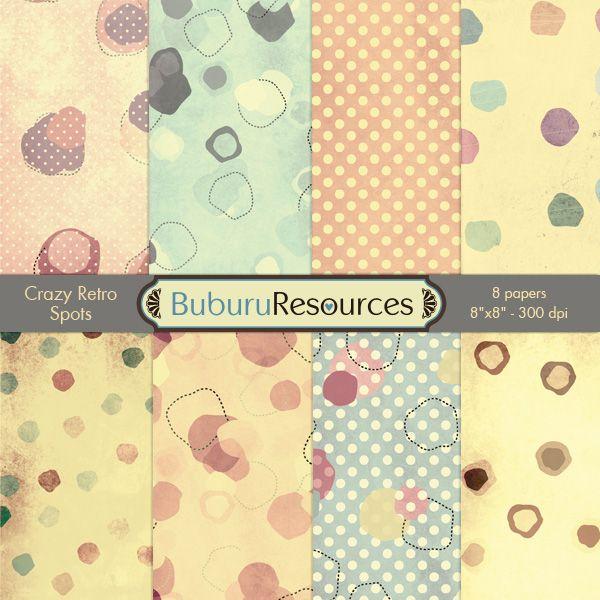 Crazy Retro Spots By BuburuResources.deviantart.com On