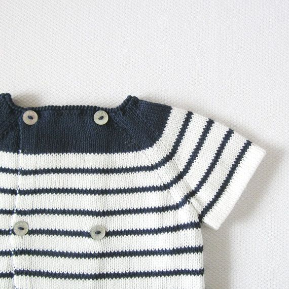Knit sweater and a diaper cover with a red little by tenderblue
