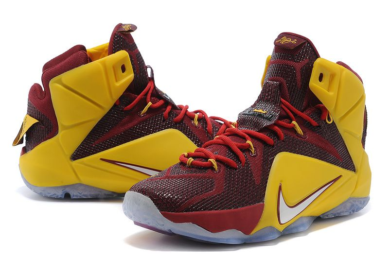 ... online sneakler 3b54e 1ae56 lebron 12 - Google Search � James  ShoesLebron JamesNike ... feature sale 47d9e 12391 maroon and yellow nike  ...