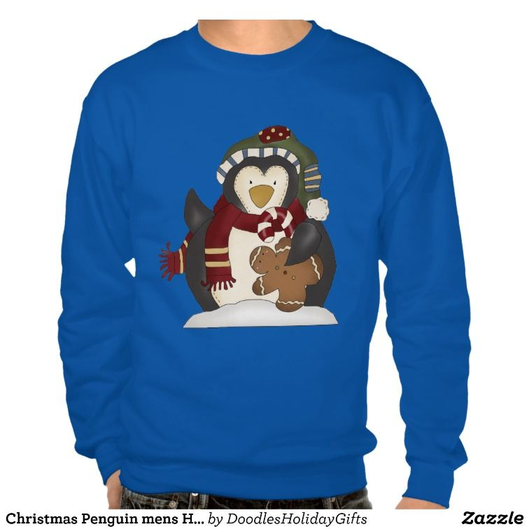 Christmas Penguin mens Holiday t-shirt 50% OFF T-shirts use code BLKFRIDAY983 today only! 11/26/13