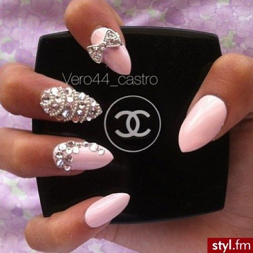 Love The Middle Finger Design Ger Rhinestones With Little Ones In Rows
