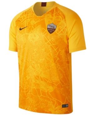 Nike Men S As Roma International Club 3rd Jersey Yellow As Roma Soccer Jersey Nike Men