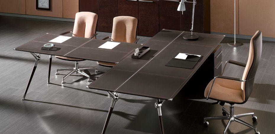 Modernit työpöydät Genesis, valmistanut Codutti, Designer Tiziano Dainese