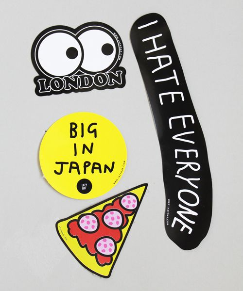 Lazy oaf die cut sticker pack