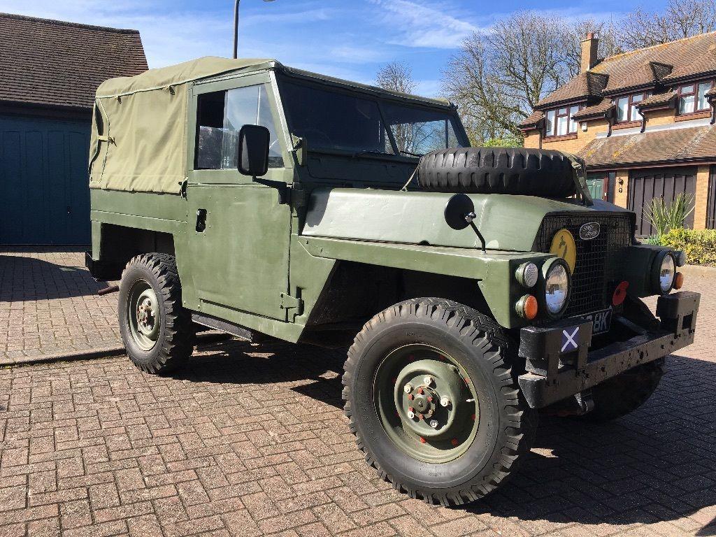 Land Rover Lightweight 1971 Tax Exempt eBay Land rover