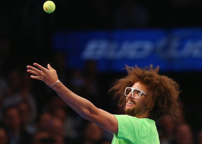 Así se celebró en el BNP Paribas New York showdown el Día Mundial del Tenis #diamundialdeltenis