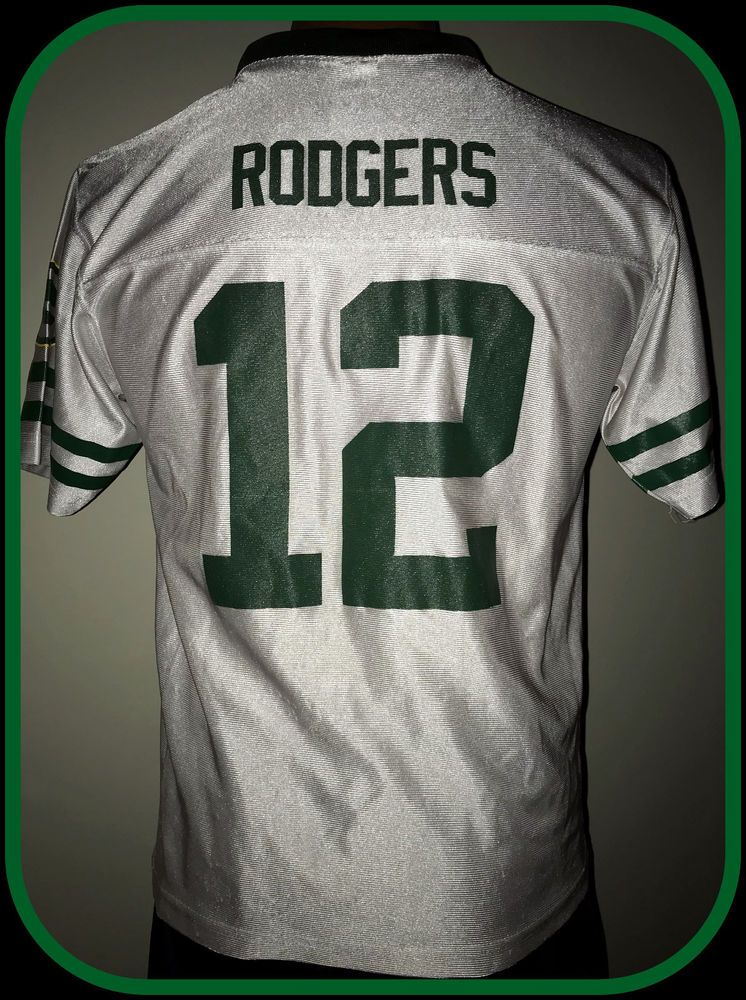 brand new e9a7f 6243d Details about Green Bay Packers Aaron Rodgers Jersey Youth ...
