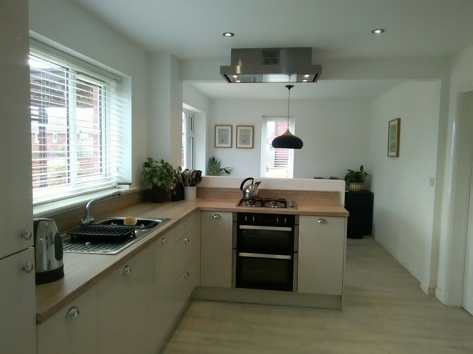 Family kitchen, dining, work space. Just completed knock through ...