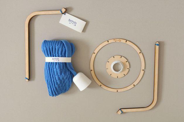 Hängelampen - Knitula static. - ein Designerstück von kollektivpluszwei bei DaWanda
