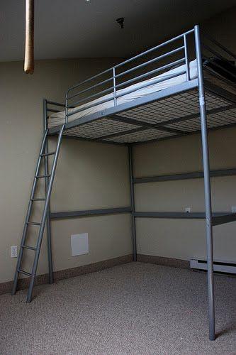 Letto A Castello Tromso.Ikea Hackers Bedroom Tromso Bed Flipped Upside Down Ikea Loft