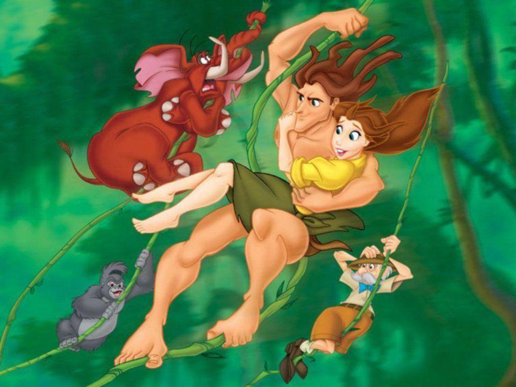 Walt Disney S Tarzan Wallpaper Tarzan Wallpaper Tarzan Disney Tarzan Tarzan And Jane
