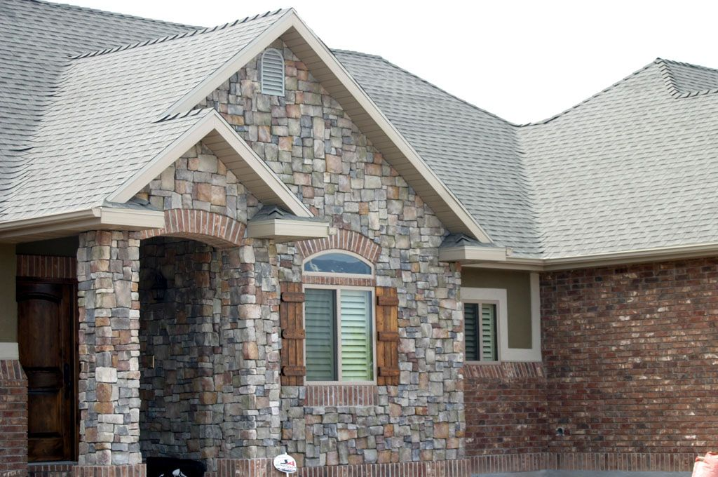 Accents For Red Brick Homes Using Brick Stone On Your