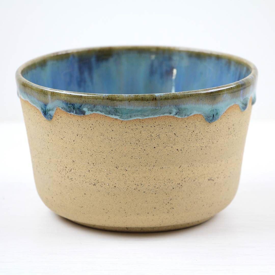 Wheelthrown bowl with Waterfall glaze.  #pottery #clay #potteryart #potterystudio #ceramicbowls #pottery #potterymaking #instapottery #claystagram #potterylove #potterylife #pottersofinstagram #kilnfolk #ceramic #ceramics #contemporaryceramics #handmade #handmadepottery #makersgonnamake #makersmovement #createmakeshare #crafts #craftsposure #contemporarycrafts
