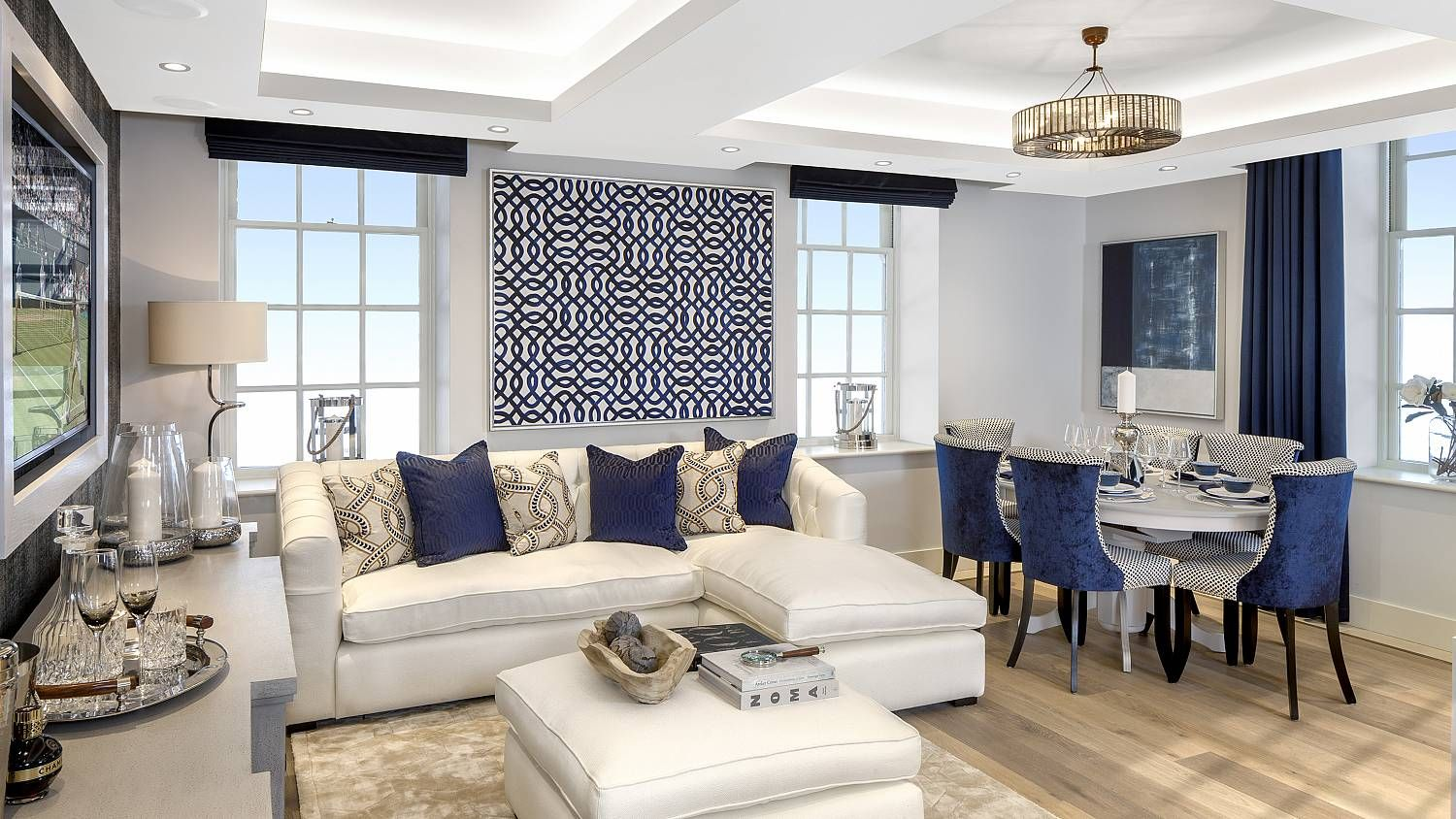 Suna Interior Design | Show Homes | London Square The Star And Garter Plot  59