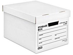 Heavy Duty Storage File Boxes 15 X 12 X 10 S 3887 File Boxes Cardboard Storage Storage