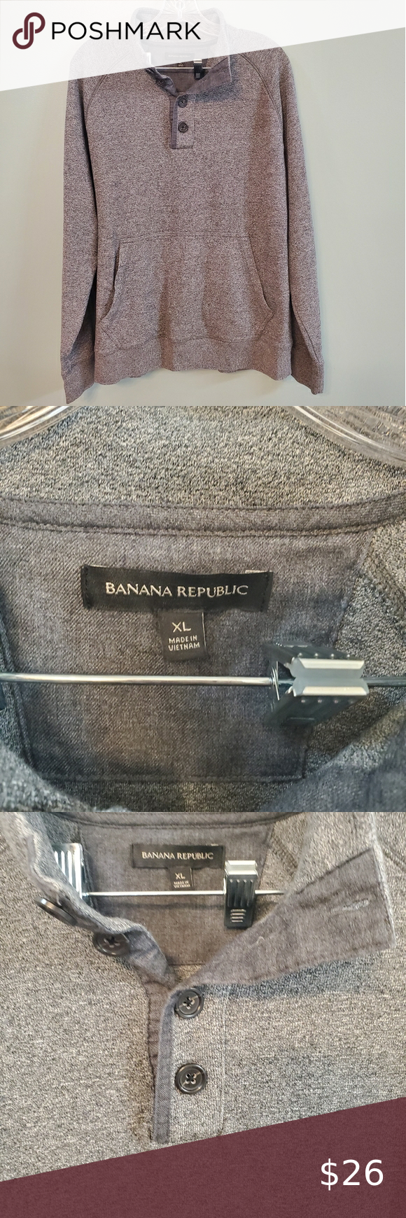 Banana Republic Mens Sweatshirt Xlarge Mens Sweatshirts Sweater Fashion Fall Fashion Trends [ 1740 x 580 Pixel ]