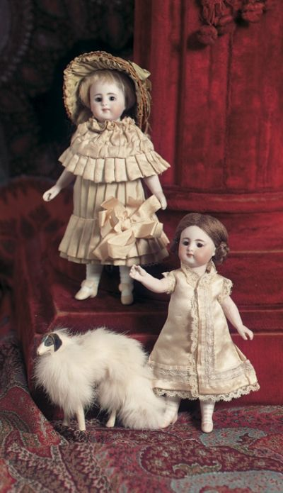 Pie in the Sky, Cow Over the Moon: 24 Miniature Doll,881,by Simon and Halbig