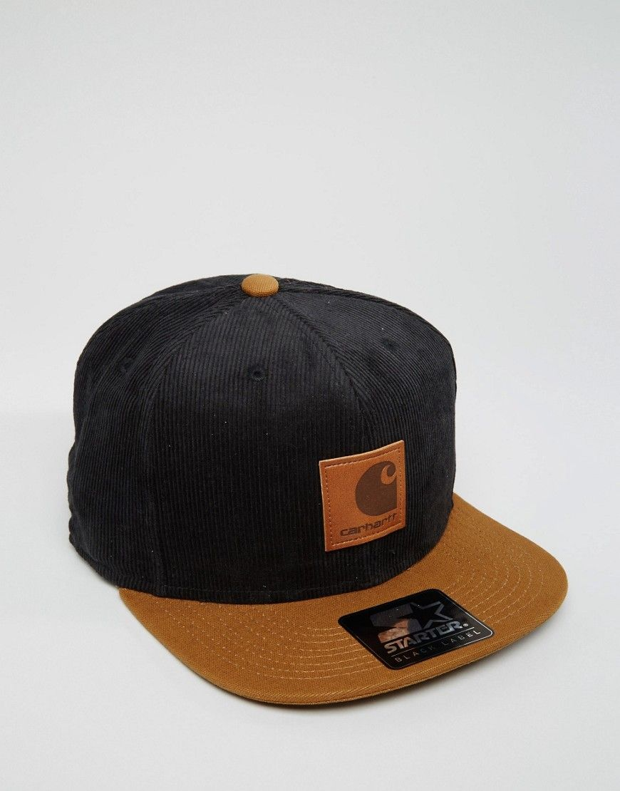 515708a8711 Image 1 of Carhartt WIP X Starter Snapback Cap Cord