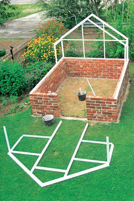 Comment construire une serre de jardin DIY ? Le blog d'ici