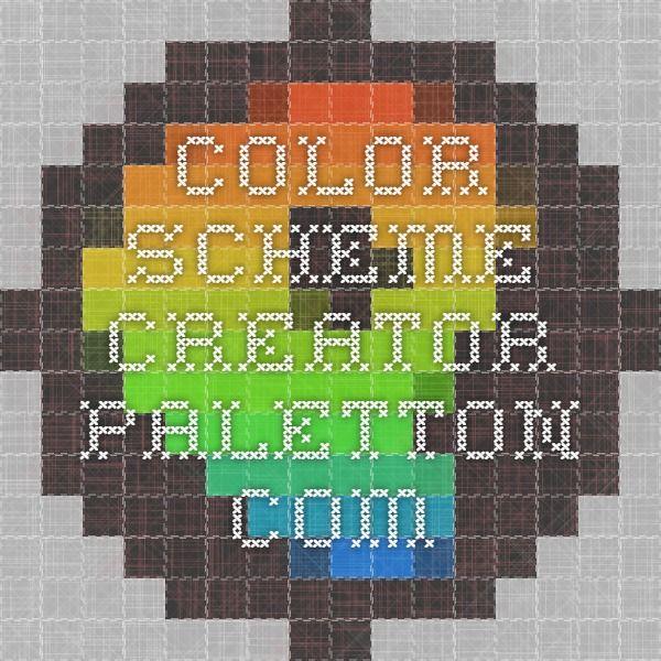 Color Scheme Creator - paletton.com | Color | Pinterest