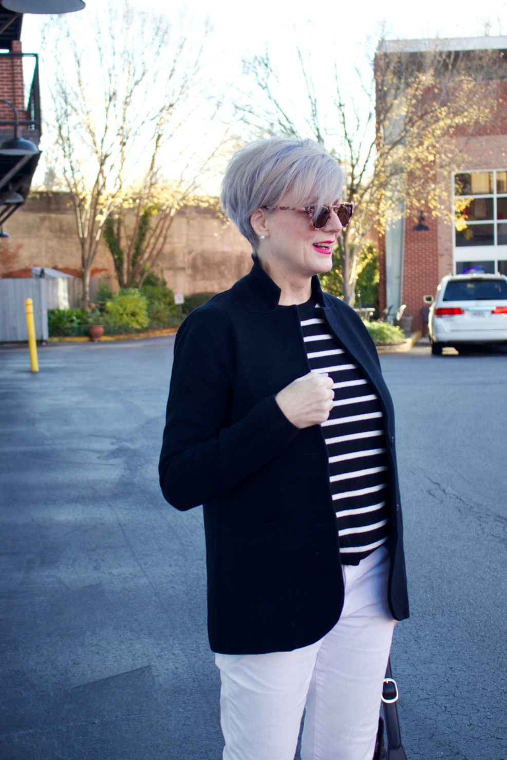 how to wear outerwear   Style At A Certain Age